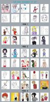 Five Years of Art: 2009-2013 by bookworm555
