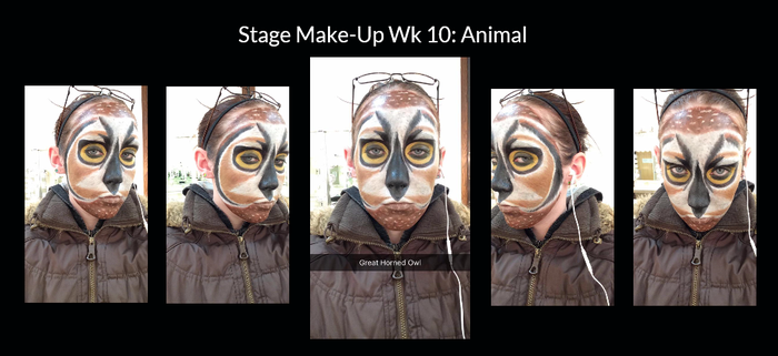 Stage Make-Up Wk 10 by Lady-Ceridwen