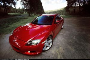 Mazda RX 8 - at golf course - by dejz0r
