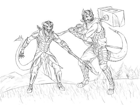 Eltaren - Master and Apprentice - All Grown Up by Faullyn