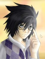 Lawliet's a Nerd by ChibiStarChan