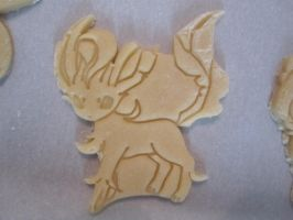 Leafeon Cookie Dough Cut by B2Squared