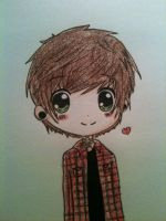 Little doodle of Chris drew c: by cascadeofstars