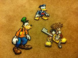 Kingdom Hearts Sprites by Night-TAG