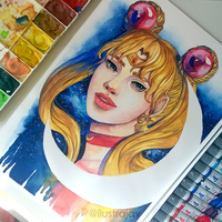Bishoujo Senshi Sailor Moon by ilustrajay
