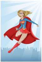 Supergirl by madmoiselleclau