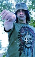 Blue Criss Angel by mindfreak01