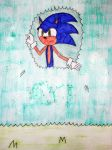 Sonic inside the bush by Gallerica