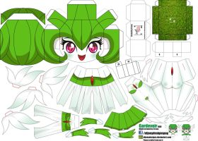 Gardevoir (Joey's Chibi Girls 050) by ELJOEYDESIGNS
