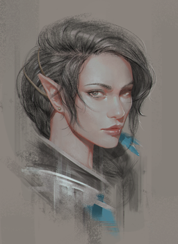 Critical Role: Vex'ahlia by ae-rie