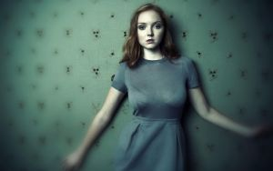 Lily Cole wallpaper v03 by Duke-3d