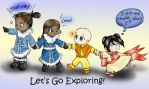 Avatar: Let's Go Exploring by Kaede-chama