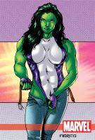 SHe hulk by adrianocastro