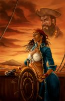 Black Beard Legacy cover 4 by VinRoc