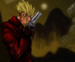 Vash the Speedpaint by ScribblerRigby
