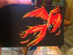 Pheonix Duffle Bag Tag by Hylian-At-Heart