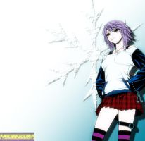 Mizore Shirayuki by brownman06