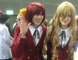 Minori and Taiga by WhatTheFoxBecca