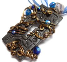 Passage Necklace no. 218 by sojourncuriosities