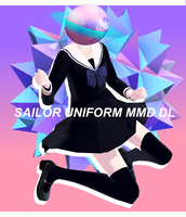 MMD Sailor uniform download by ReggieAndCheese