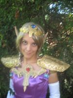 Zelda cosplay 2 Close Detail by BluePandora09