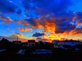 Cloudy Sunset in Cyprus -5- HDR by IoannisCleary