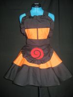 Naruto Shippuden Cosplay Apron Pinafore by DarlingArmy