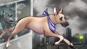 Fetch though the window by Arkare