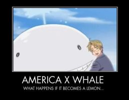 America and Whale buddy by JiffyPeanutbutterGir