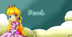 Mario: Peach by Luigi-Mario-Fanatic