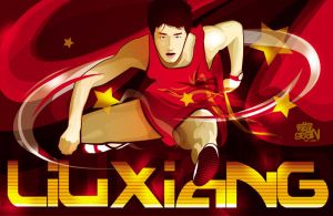 Liu Xiang by Seanleedesign