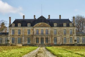 Castle of Champfleur Orne France by hubert61