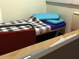 My room ant uni 5 by Cogs90