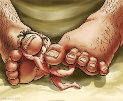 Foot Play by fatdadslave