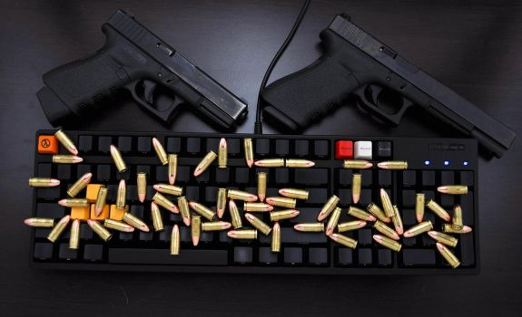 Glock and Filco by ComradeSniper