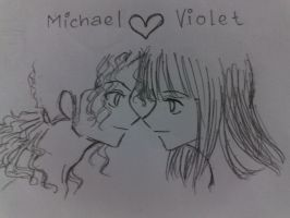 Michael And Violet by VeinalAnovyn