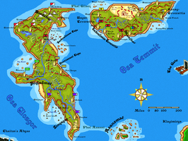 Map for an Imagi-World by AndrewMcCory