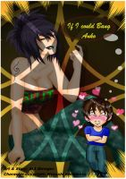 [2015REQ] If I could Bang Anko Comic Cover by AvalonBoss3013