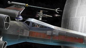 Xwing Attack by pyraker