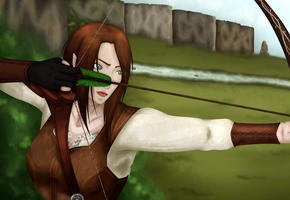 Hunting - colored by Mimiko-Flamemaker