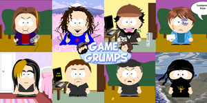 Game Grumps - South Park by KristianTheTiragon