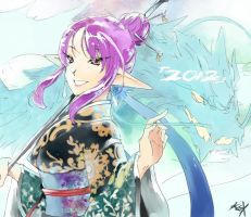-TOV- 2012 Year of the Water Dragon by lonerurouni187
