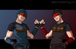 humanized rumble + frenzy by Ammotu