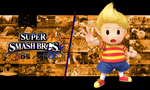 SSB for Wii U/3DS Lucas Background by shrooby