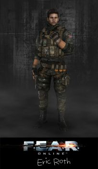 F.E.A.R.Online: Eric Roth by xCrofty