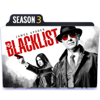 The Blacklist Season 3 folder icon [by Lopez] by Red-John96