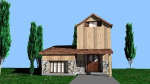 3D House by ConcreteChief