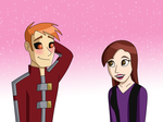 Commission: Ivo and Diana by Raygirl4evah