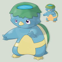 FAKEMON -W STARTER- KAPPUDDLE by mssingno
