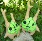 Twins! - Korok Makar Plushies by Ganjamira